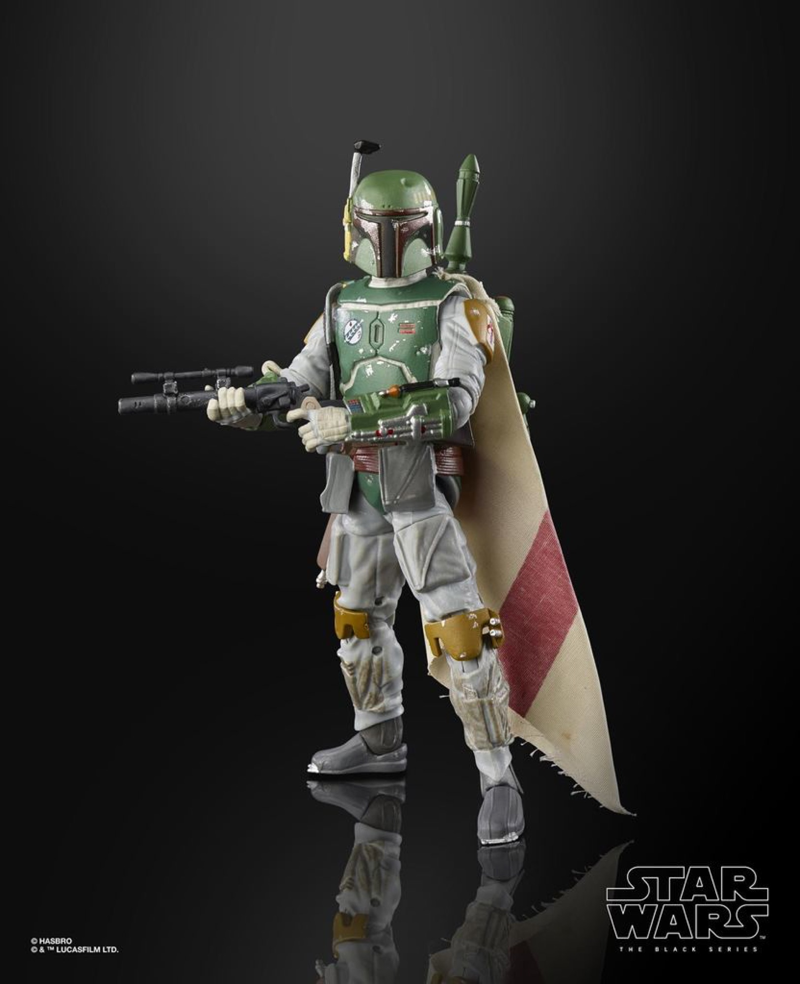 BOBA FETT E5 FIGURA 15 CM STAR WARS 40TH BLACK SERIES E80805L0