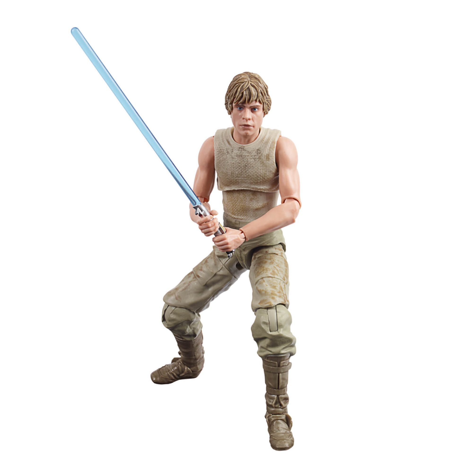 LUKE SKYWALKER DAGOBAH E5 FIGURA 15 CM STAR WARS 40TH BLACK SERIES E80845L0