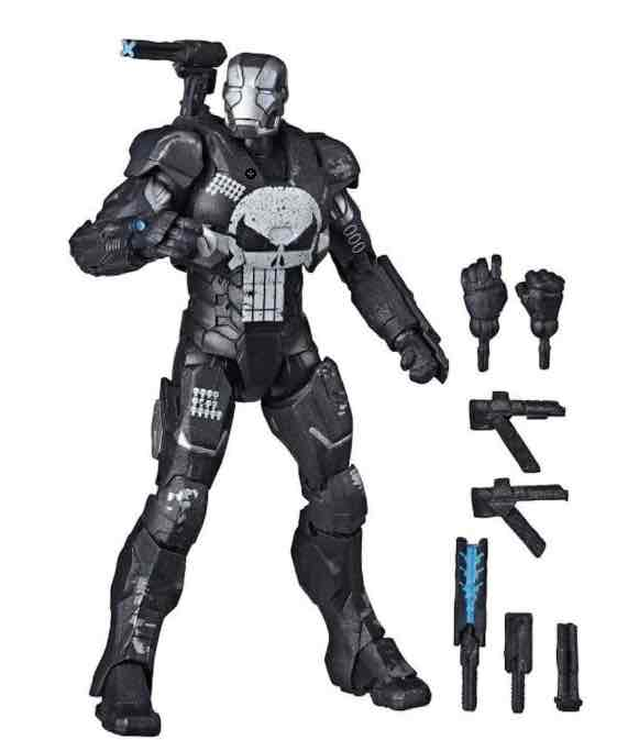 WAR MACHINE FIGURA 15 CM MARVEL LEGENDS VARIANT E88465L0