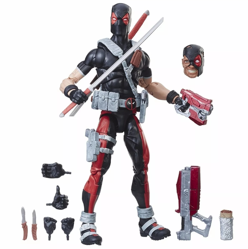 DEADPOOL WEAPON X FIGURA 30 CM MARVEL LEGENDS