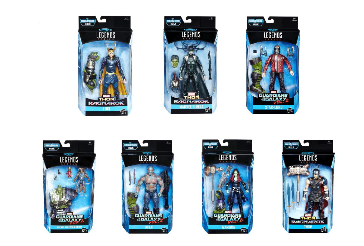 SURTIDO MARVEL BEST OF 8 FIGURAS 18 CM MARVEL LEGENDS