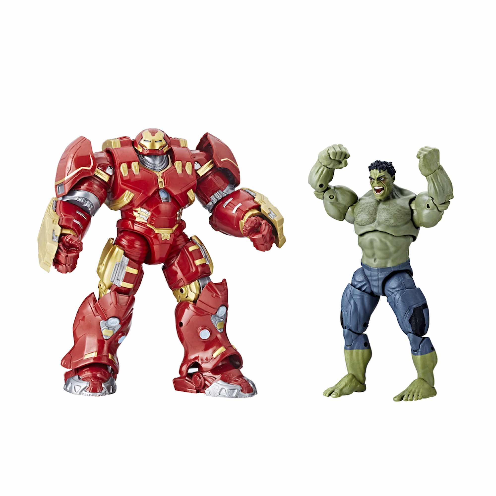 HULK & HULKBUSTER SET 2 FIGURAS 15 CM AVENGERS AGE OF ULTRON MARVEL LEGENDS