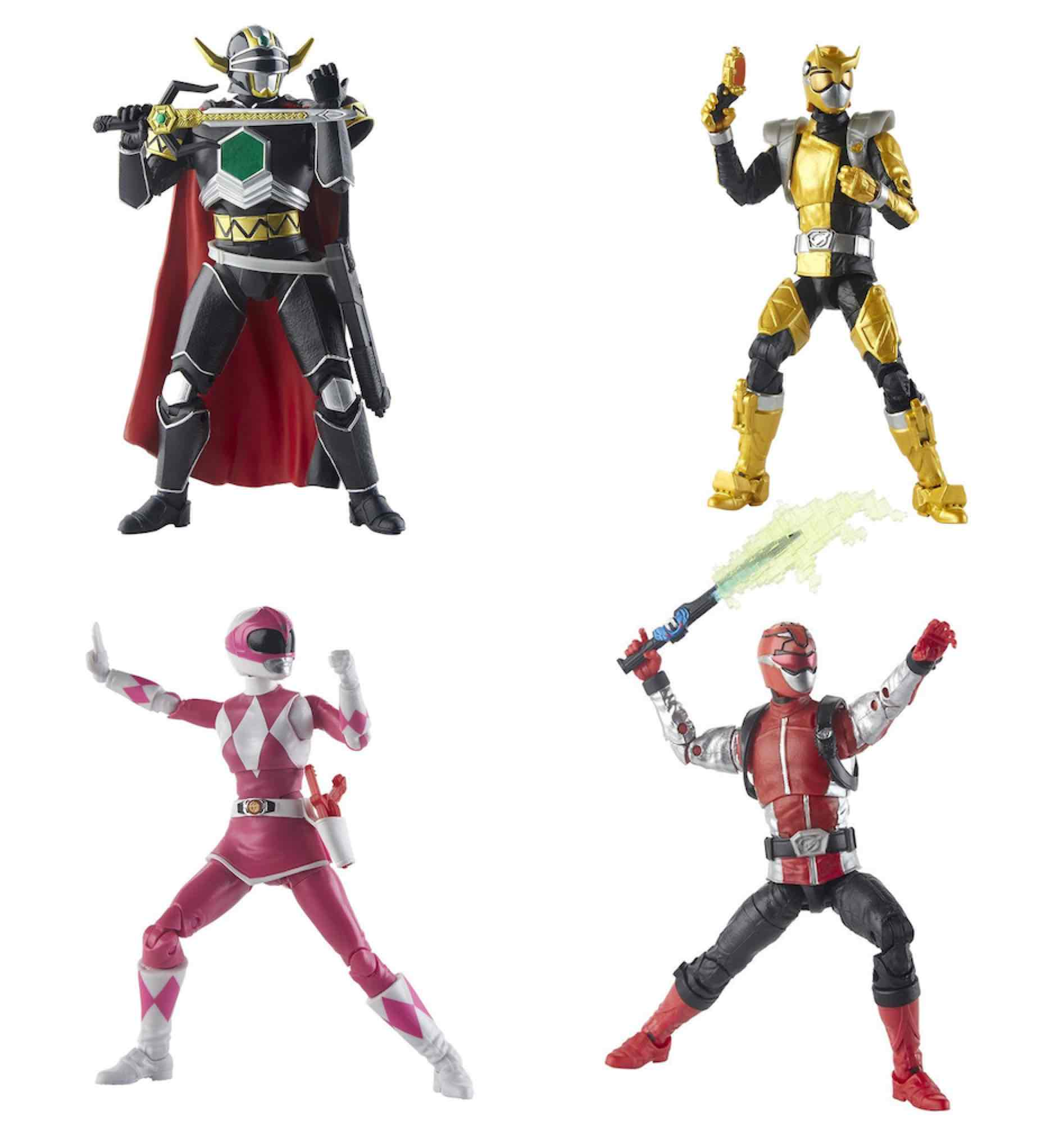 SURTIDO 8 FIGURAS 15 CM POWER RANGERS LIGHTNING COLLECTION WAVE 2 E5906