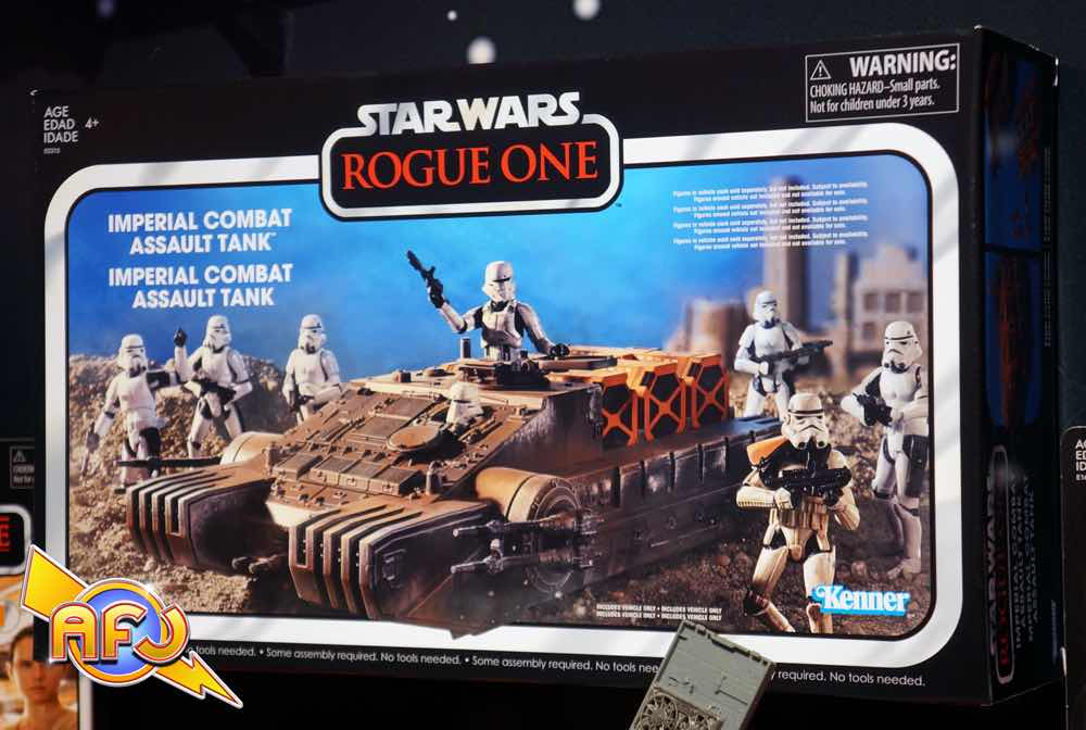 TANQUE IMPERIAL COMBAT ASSAULT R1 FIGURA 25 CM STAR WARS THE BLACK SERIES