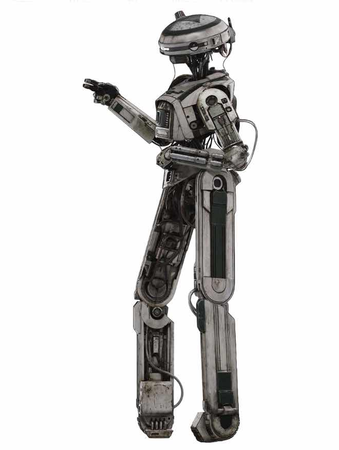 L3-37 SM FIGURA 15 CM STAR WARS HAN SOLO MOVIE BLACK SERIES