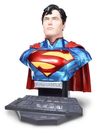 SUPERMAN SOLID VERSION BUSTO PUZLE 3D 15 CM DC UNIVERSE