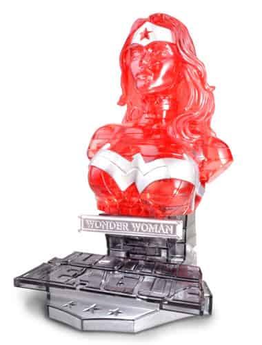 WONDER WOMAN CRISTAL VERSION BUSTO PUZLE 3D 15 CM DC UNIVERSE