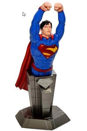 SUPERMAN ACTION MODE BUSTO PUZLE 3D 17 CM DC UNIVERSE