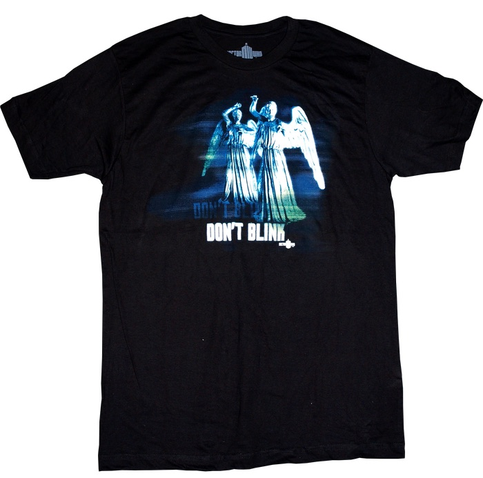 WEEPING ANGEL DON'T BLINK CAMISETA CHICO T-XXL DOCTOR WHO
