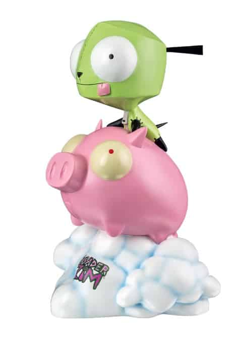 GIR ON PIG ESTATUA 23 CM INVADER ZIM