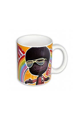 LBP MARVIN (AFRO SACKBOY) TAZA CERAMICA LITTLE BIG PLANET