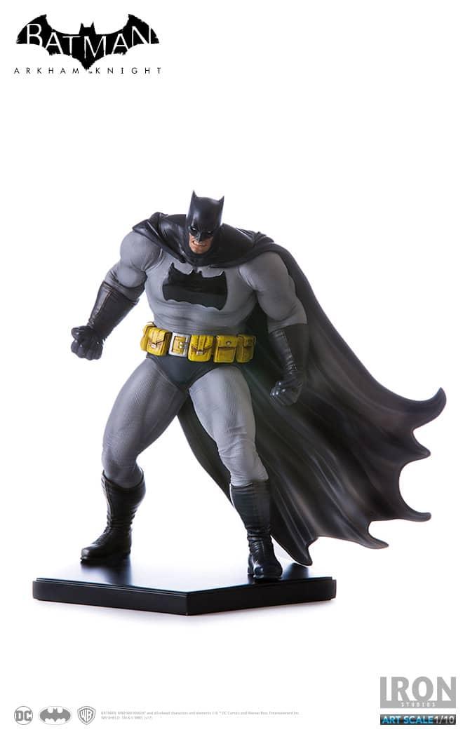 BATMAN DARK KNIGHT DLC SERIE FIG 18 CM ARKHAM KNIGHT DC COMICS IRON STUDIOS 1/10 ART SCALE