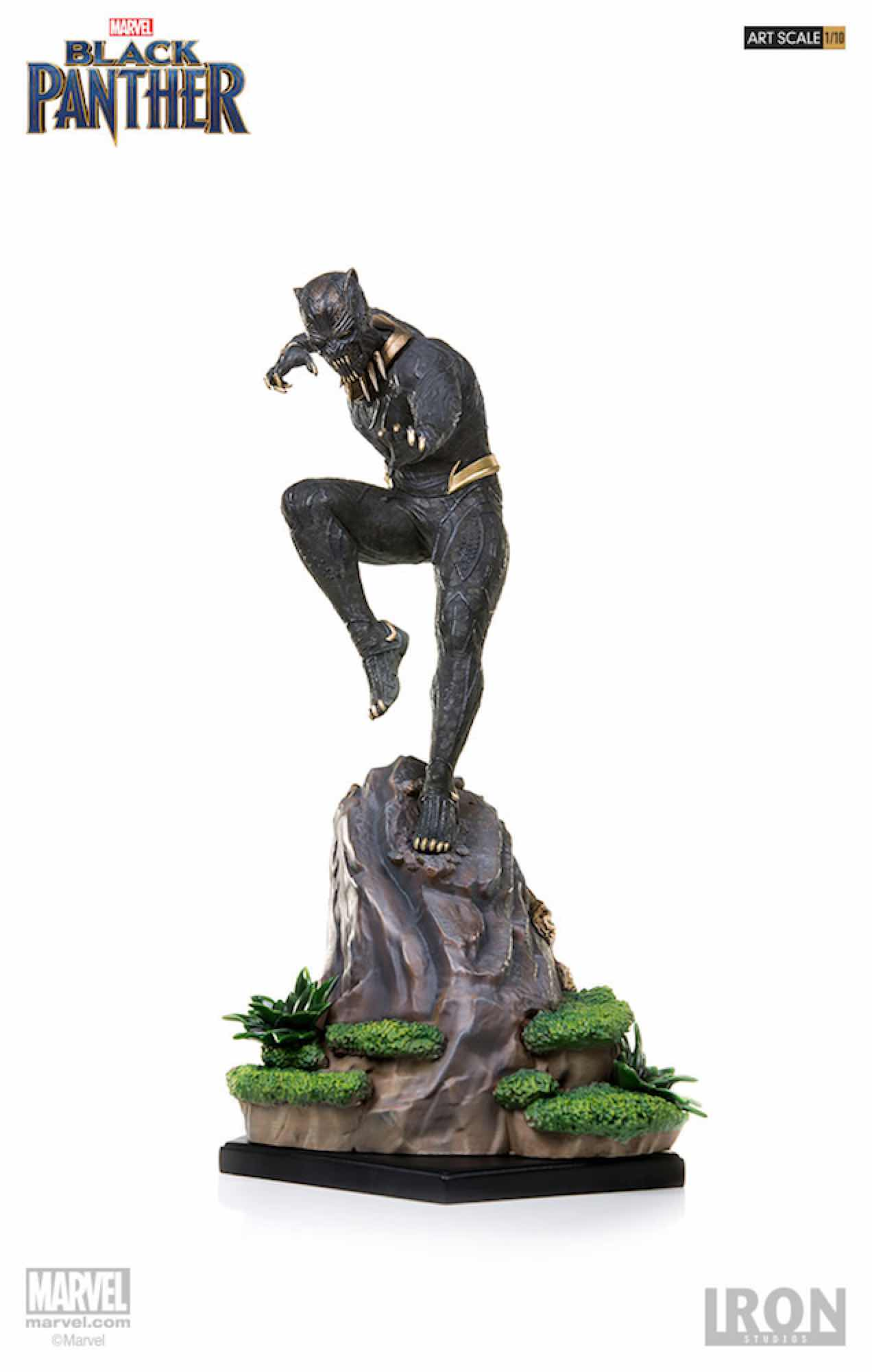 KILLMONGER FIG 27 CM BLACK PANTHER IRON STUDIOS BDS 1/10 ART SCALE