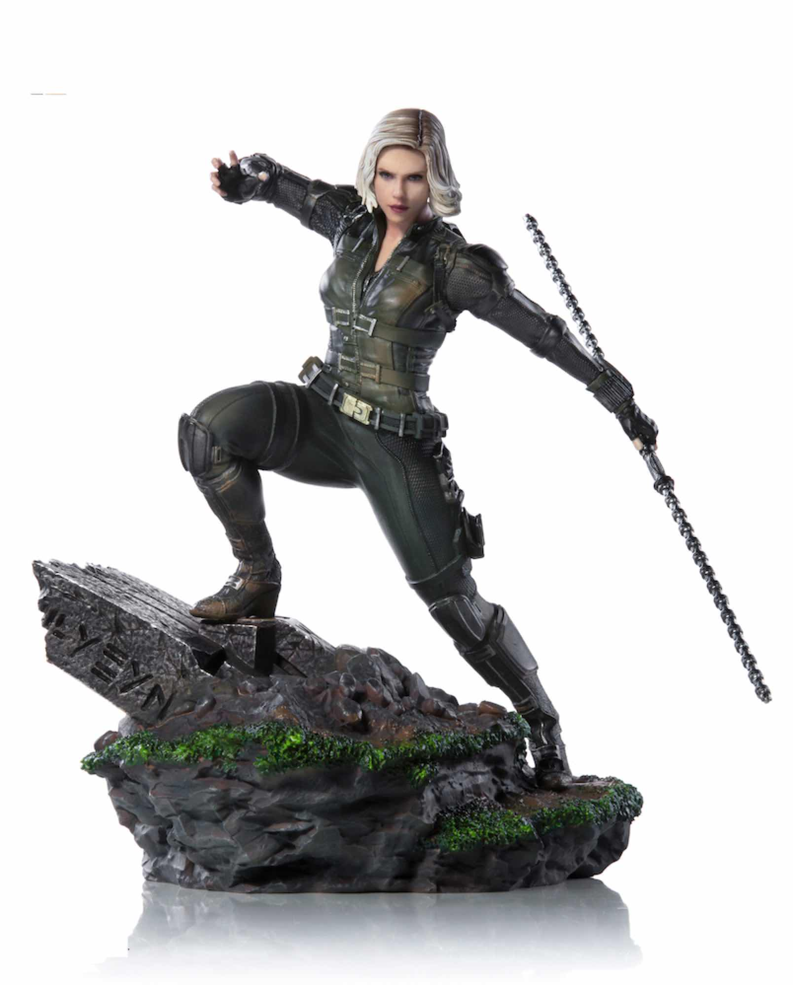 BLACK WIDOW FIG 18 CM AVENGERS INFINITY WAR IRON STUDIOS BDS 1/10 ART SCALE