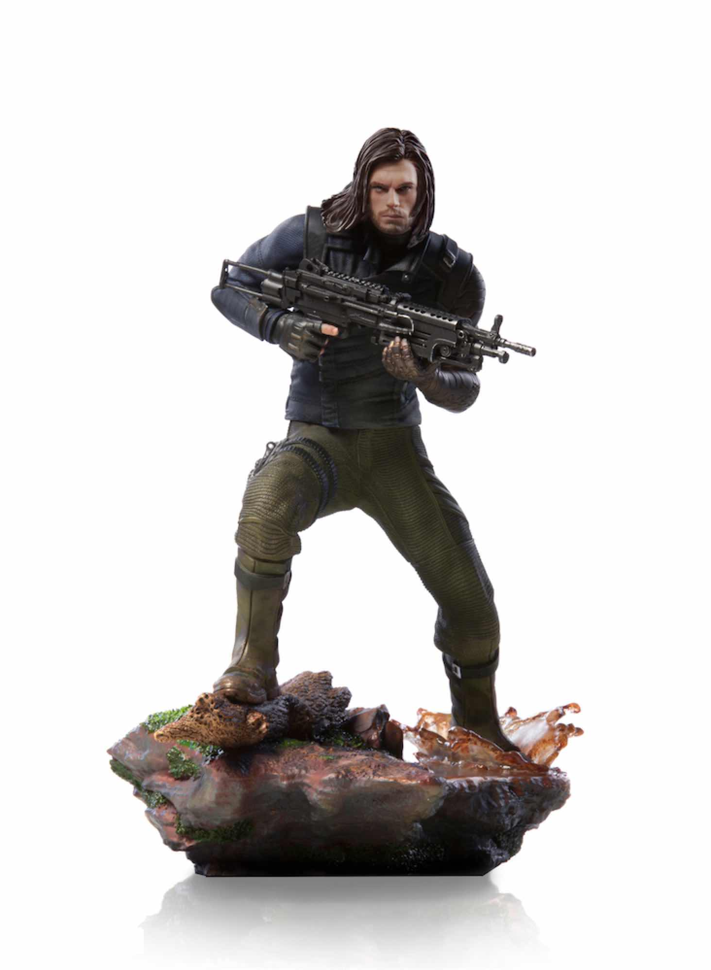 WINTER SOLDIER FIG 20 CM AVENGERS INFINITY WAR IRON STUDIOS BDS 1/10 ART SCALE