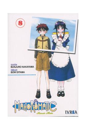MAHOROMATIC 08 (COMIC) (ULTIMO NUMERO)