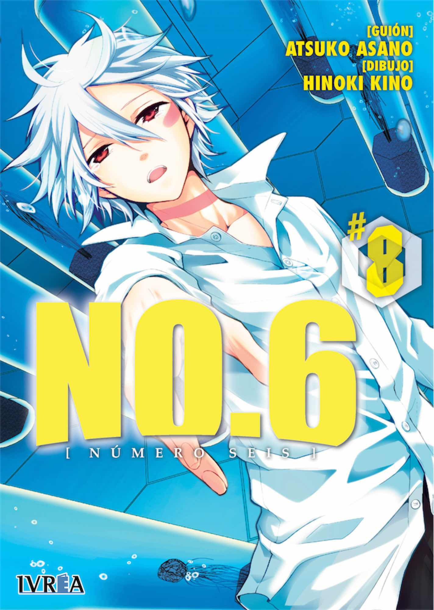 NO.6 08 (NUMERO SEIS) COMIC)
