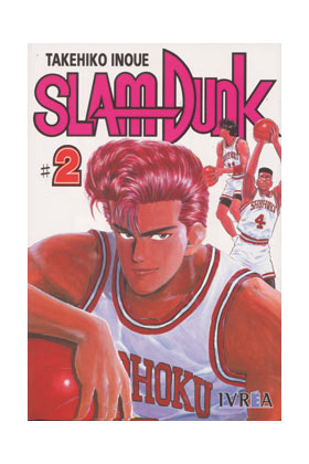 SLAM DUNK 02 COMIC