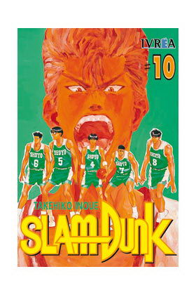 SLAM DUNK 10 COMIC