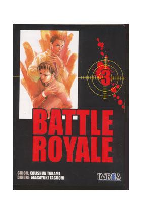 BATTLE ROYALE 03 (COMIC)