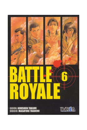 BATTLE ROYALE 06 (COMIC)