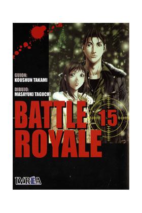 BATTLE ROYALE 15 (COMIC) (ULTIMO NUMERO)