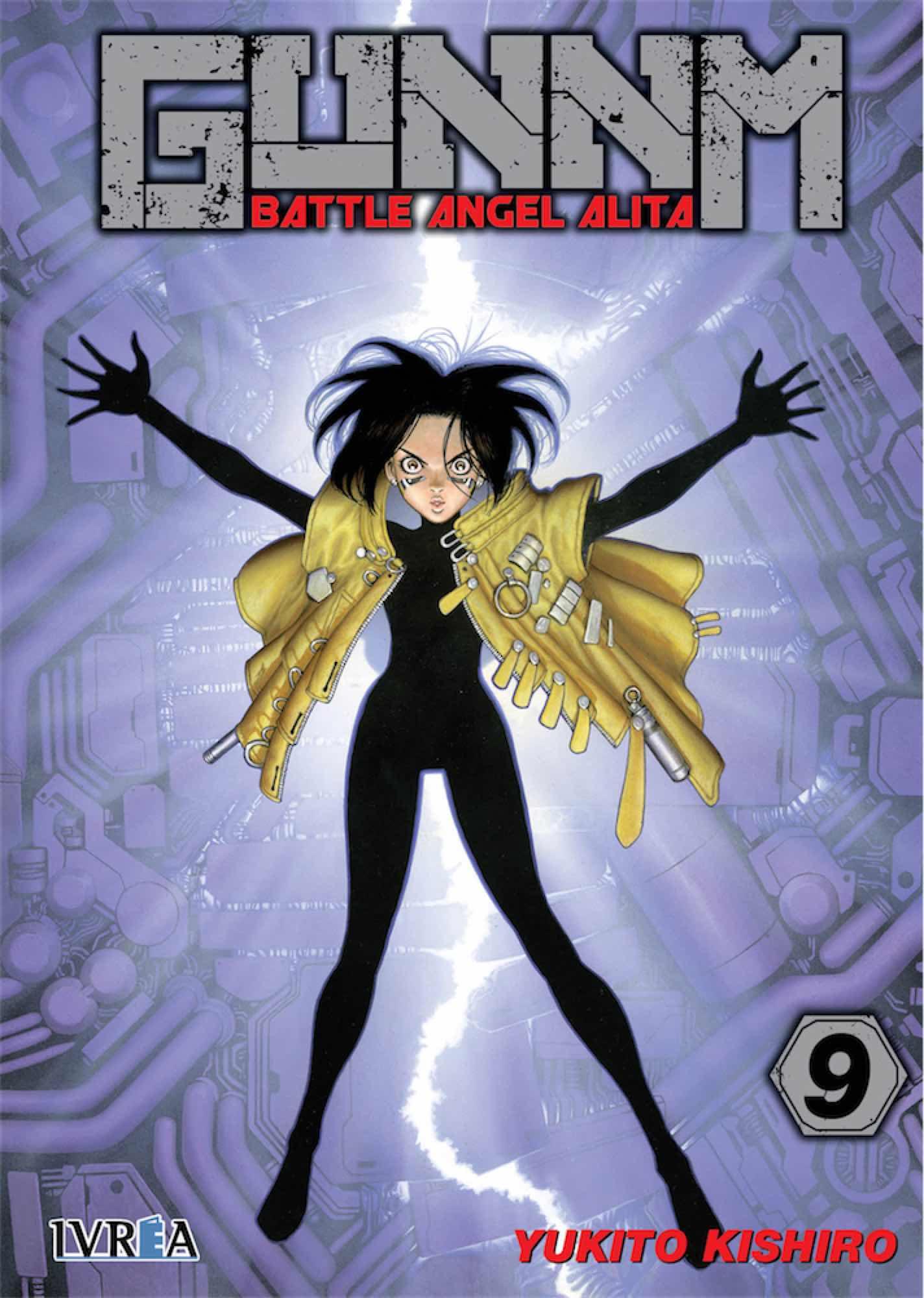 GUNNM (BATTLE ANGEL ALITA) 09
