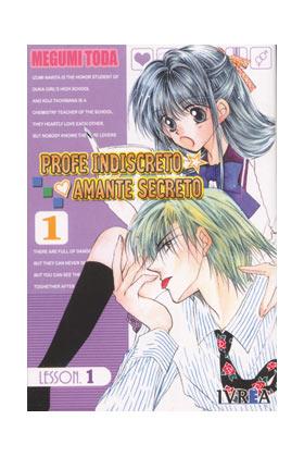 PROFE INDISCRETO, AMANTE SECRETO 01 (COMIC)
