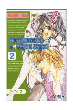 PROFE INDISCRETO, AMANTE SECRETO 02 (COMIC) (ULTIMO)
