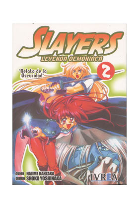 SLAYERS : LEYENDA DEMONIACA 02 (COMIC)