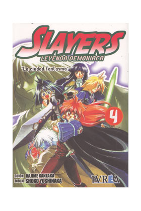 SLAYERS : LEYENDA DEMONIACA 04 (COMIC)