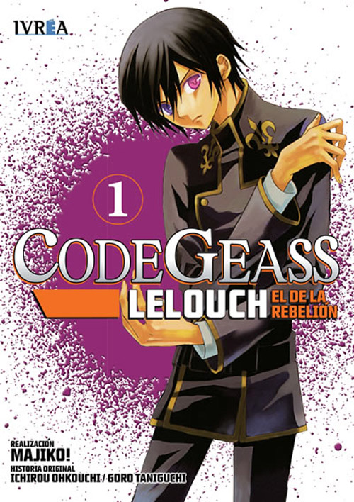 CODE GEASS: LELOUCH, EL DE LA REBELION 01 (COMIC)
