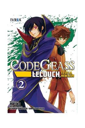 CODE GEASS: LELOUCH, EL DE LA REBELION 02 (COMIC)