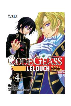 CODE GEASS: LELOUCH, EL DE LA REBELION 04 (COMIC)