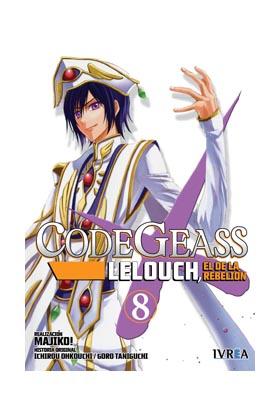 CODE GEASS: LELOUCH, EL DE LA REBELION 08 (COMIC)