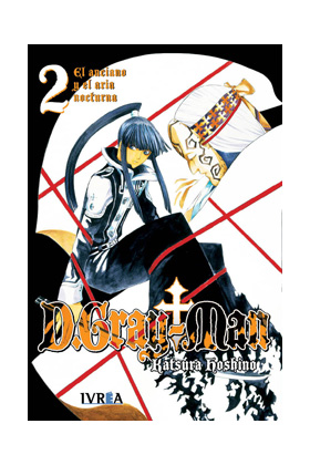 D.GRAY MAN 02 (COMIC)