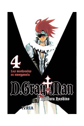 D.GRAY MAN 04 (COMIC)