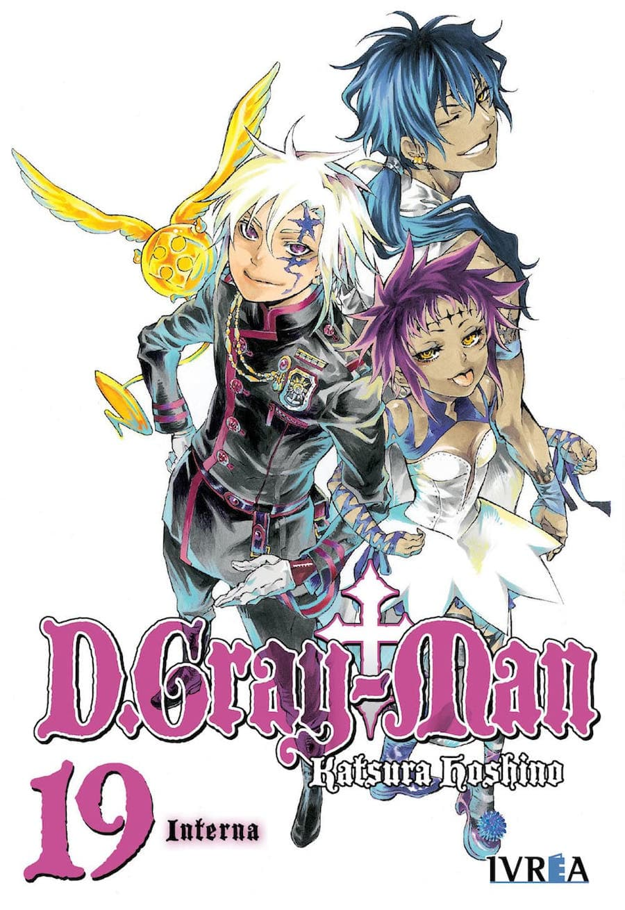 D.GRAY MAN 19 (COMIC)