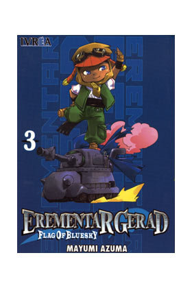EREMENTAR GERAD FLAG OF BLUE SKY 03 (COMIC)