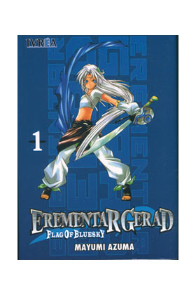 EREMENTAR GERAD FLAG OF BLUE SKY 01 (COMIC)