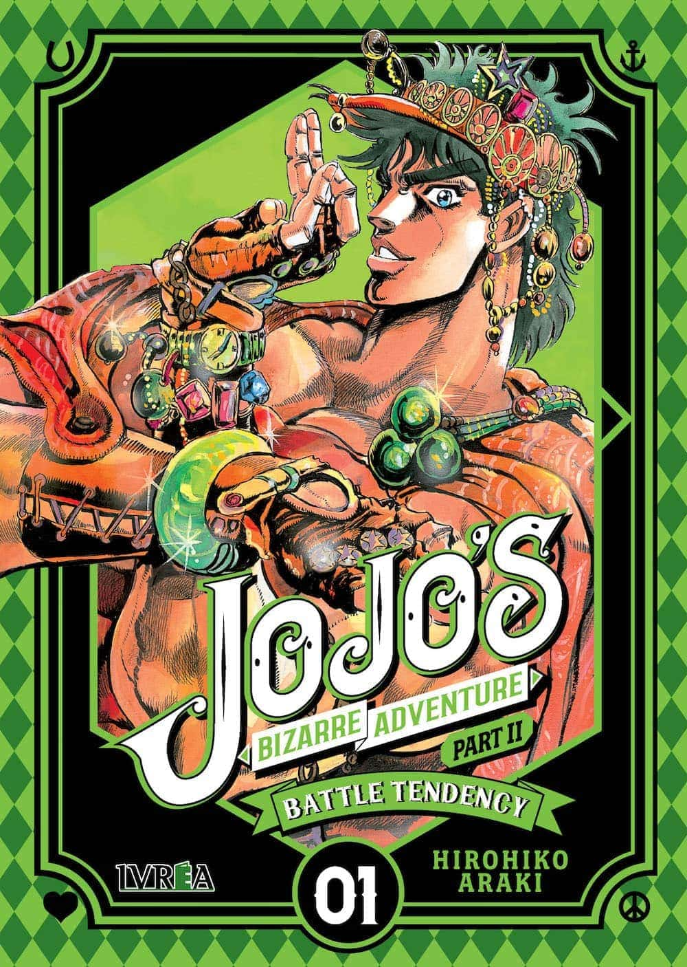 JOJO'S BIZARRE ADVENTURE PARTE 2: BATTLE TENDENCY 01