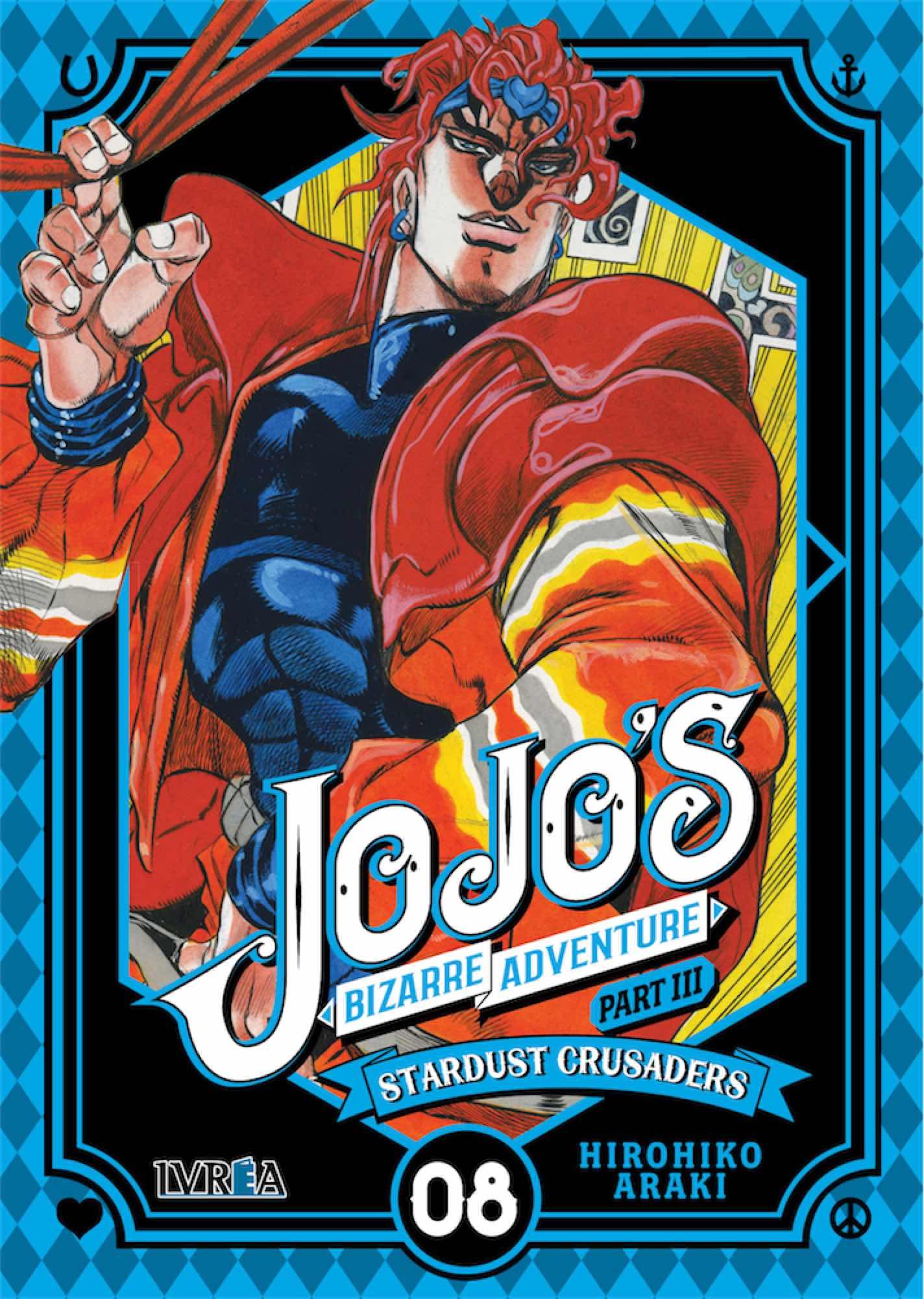 JOJO'S BIZARRE ADVENTURE PARTE 3: STARDUST CRUSADERS 08
