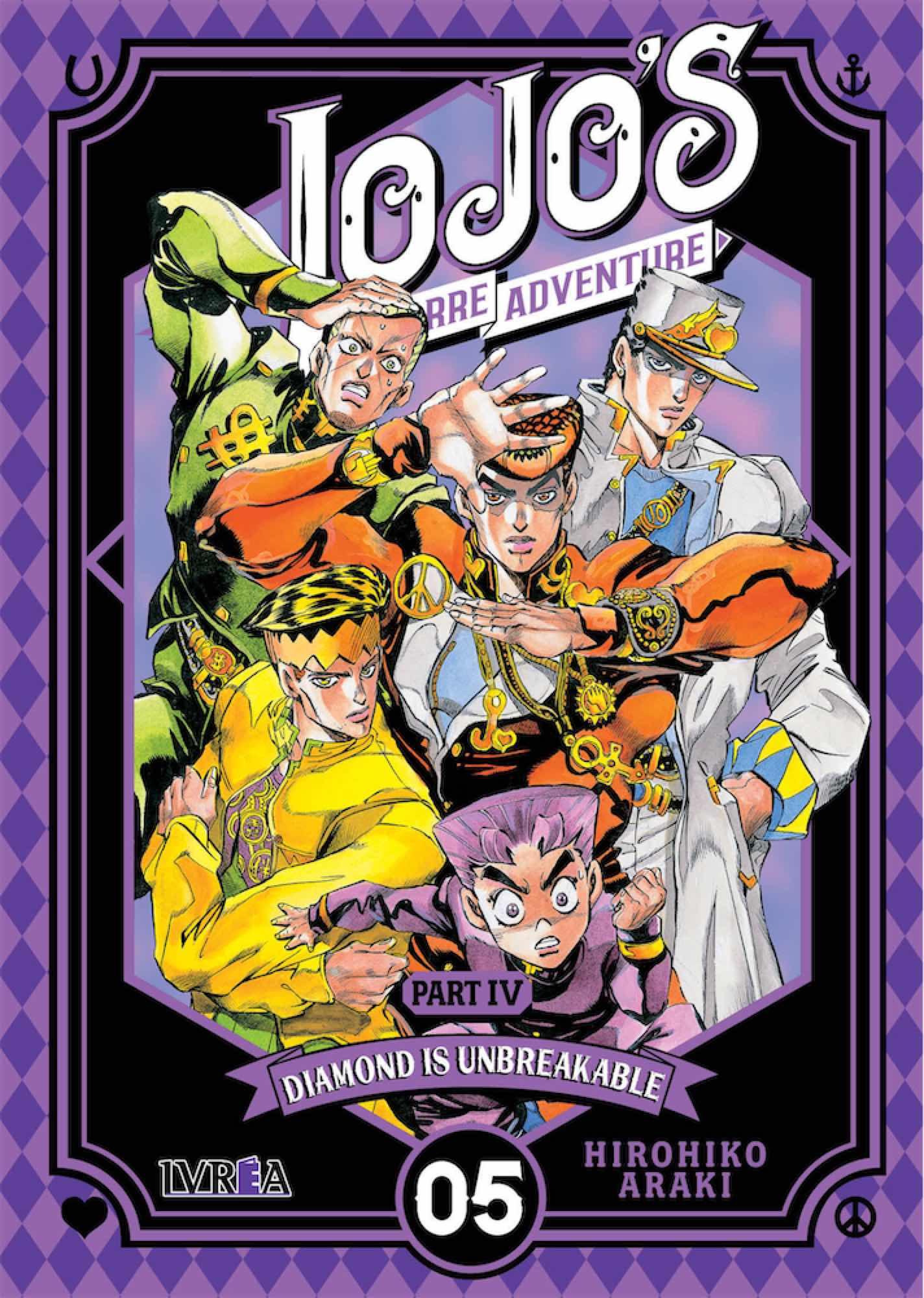 JOJO'S BIZARRE ADVENTURE PARTE 4: DIAMOND IS UNBREAKABLE 05
