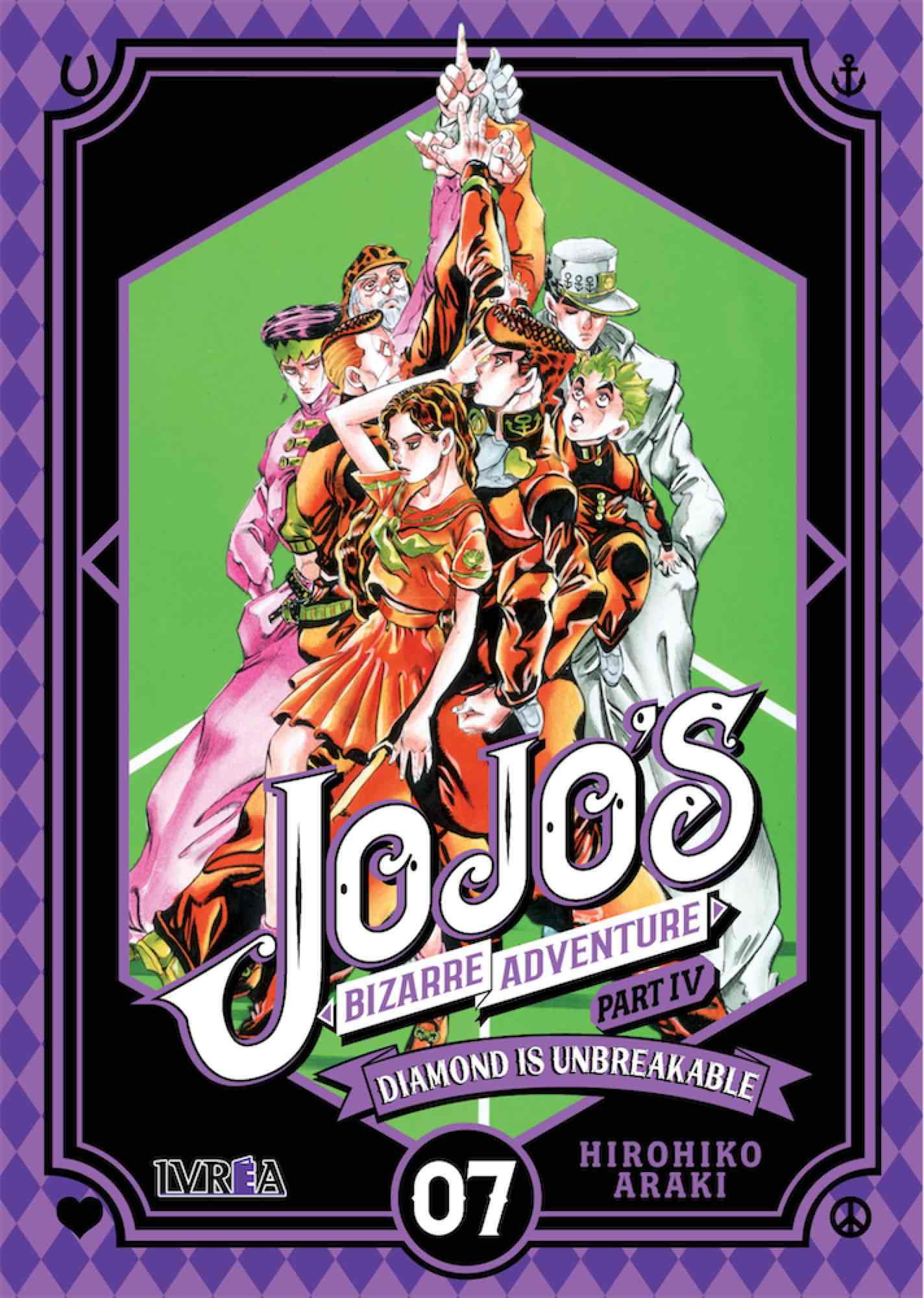 JOJO'S BIZARRE ADVENTURE PARTE 4: DIAMOND IS UNBREAKABLE 07