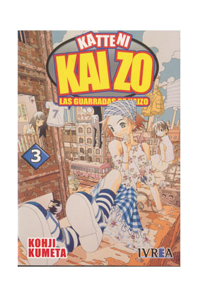 LAS GUARRADAS DE KAIZO 03 COMIC