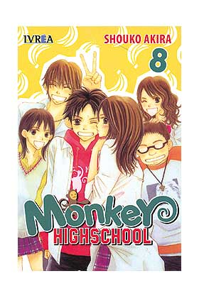 MONKEY HIGHSCHOOL 08 (COMIC)