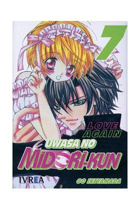 UWASA NO MIDORI-KUN 07 LOVE AGAIN (LOS RUMORES SOBRE MIDORI) (COMIC)