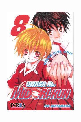 UWASA NO MIDORI-KUN 08 LOVE AGAIN (LOS RUMORES SOBRE MIDORI) (COMIC)