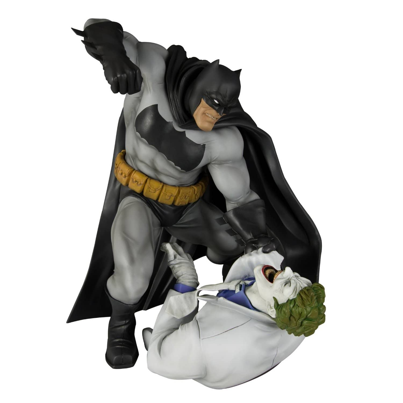 BATMAN Y JOKER ESTATUA 30 CM THE DARK KNIGHT RETURNS BATMAN HUNT THE DARK KNIGHT ARTFX