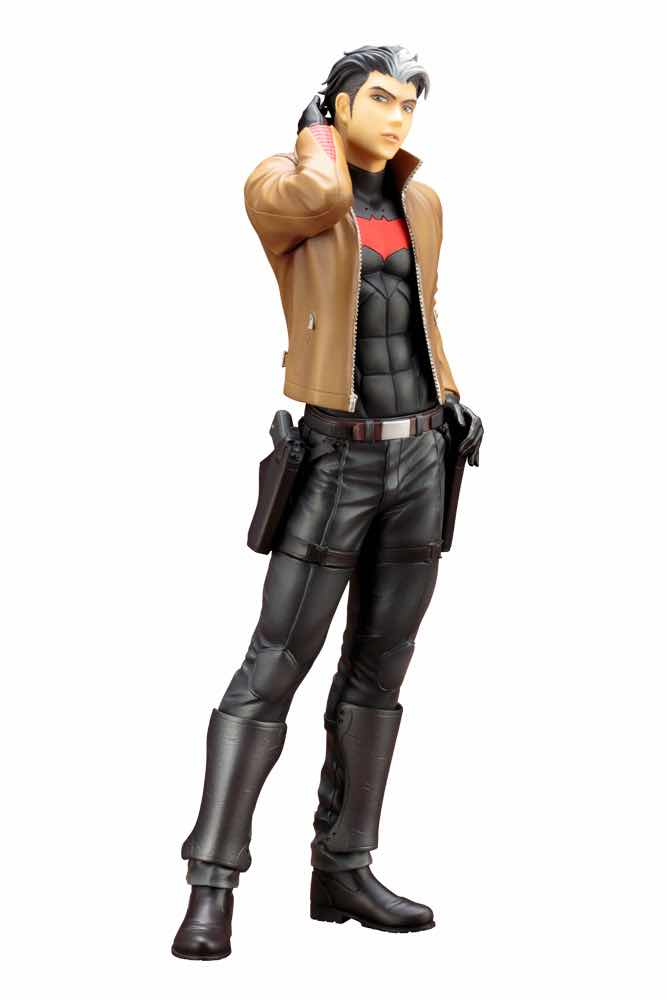 CAPUCHA ROJA RED HOOD ESTATUA 24 CM DC COMICS IKEMEN SERIES